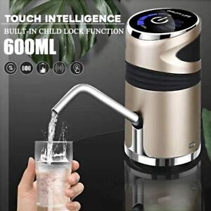 USB Rechargeable Automatic Electric Water Pump Dispenser Drinking Water Bottle