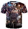 New Fashion Women/Men Game of Thrones 3D Print Casual T-Shirt TK10