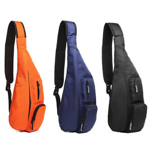 Men Cross body Shoulder Single Strap Sling Backpack Sports Rucksack Chest Bag
