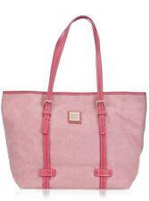 Dooney & Bourke Panama East/West Einkaufstasche in Rosa Neu mit Mängeln