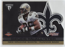 2001 Private Stock Titanium POST SEASON Die-Cut #P53 Deuce McAllister RC! /795!