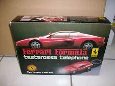 Vintage Ferrari Formula Testarossa telephone in original box 1980's!