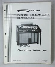 Original Seeburg Dorchester Organ Service Manual, S-2 & Deluxe