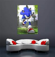 SONIC THE HEDGEHOG COMPUTER GAME NEW GIANT WALL ART PRINT PICTURE POSTER OZ610
