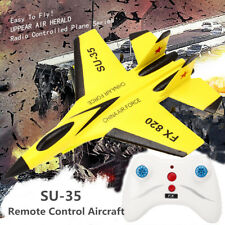 SU-35 RC Remote Control Helicopter Plane Airplane Foam 3.5CH Scale Toys Model
