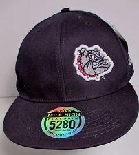 d28c99f1d33 Gonzaga Bulldogs Zags Hat Cap Snapback Flat Brim NCAA Unisex New