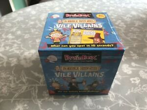 Horrible Histories Vile Villains Brainbox