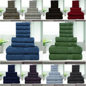 8 Pc Luxury Towel Set 100% Premium Cotton Bath Towels, Hand towel & wash cloth!