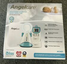 Charger ~ UK Voltage Genuine Angelcare AC401 Baby Monitors Mains Power Adapter