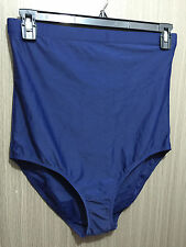 BNWT Navy Blue Sz 18 Autograph Brand High Waist Full Brief Style Swim Pants