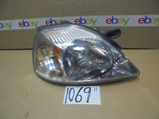 03 04 05 Kia Rio PASSENGER Side Headlight Used front Lamp #1069-H