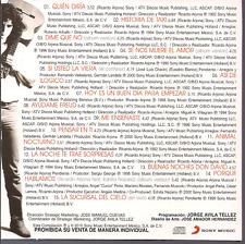 rare BALADA 80s 70s CD slip RICARDO ARJONA quien diria HISTORIA TAXI pensar enti