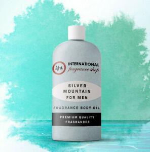 Silver Mountain Water Fragrance Body Oil Type