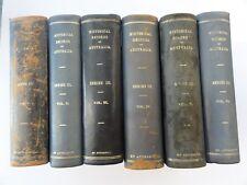 HISTORICAL RECORDS OF AUSTRALIA SERIES 3 VOLUME 6 1923 TASMANIA 1827 +N.T & W.A.