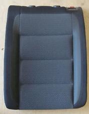 VW Golf 6 VI Lehne Rückenlehne hinten links Stoff schwarz Sitz