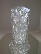 ELEGANTE VASO PER FIORI IN VETRO PRIMO NOVECENTO VINTAGE GLASS FLOWERS VASE R25