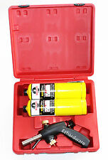 MAP/PRO GAS BLOW TORCH - DUAL HEAD - GAS TORCH WITH 2PC MAP-PRO CYLINDER