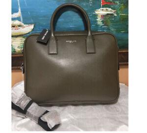 🌸NWT Michael Kors Warren Briefcase Laptop Shoulder Bag Leather tote satchel