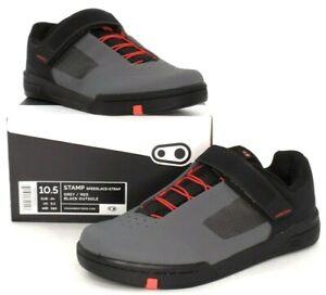 Crank Brothers Stamp Speedlace Flat Mountain Bike Shoes Black 10.5 US/44 EU