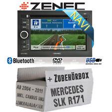 Navigation für Mercedes SLK R171 Zenec Radio Zubehörpaket Einbausatz Bluetooth
