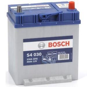 Batterie tourisme BOSCH Bosch S4030 40Ah 330A