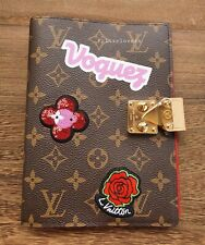 🌼❤ LOUIS VUITTON MONOGRAM LIMITED EDITION CARN PAUL NOTE BOOK COVER ❤🌼
