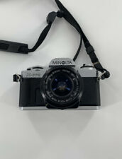 Minolta X-370 35mm SLR W/ MD 50 MM F1.7 Lens Camera with Bag