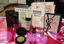 Sephora-8 Top Beauty Brands-travel size makeup-5 Mini /3 Perfume Cards