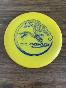 Vintage Innova Hydra Disc Golf Multi-Purpose Floats in Water 170 Grams - Yellow
