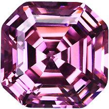 Asscher Shaped Lab-Created Loose Diamonds