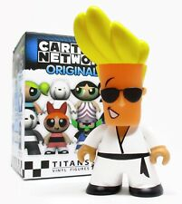 "Titans CARTOON NETWORK ORIGINALS - JOHNNY BRAVO 3"" Vinyl Figure Series"