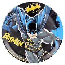 """Batman Cape Crusader DC Comics Multicolor Character Party Kid Plates Set of 4 8"""""""