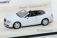 Bentley Continental GTC, Minichamps Linea Bianco 436 139031 scale 1:43, car gift
