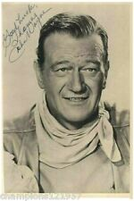 John Wayne ++Autogramm++ ++Western Legende++3