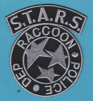 RACCOON POLICE RESIDENT EVIL STARS SHOULDER PATCH   Black / Gray