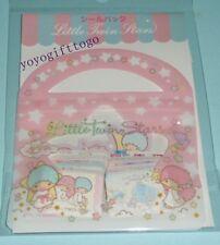 2014 Sanrio Original Little Twin Stars Sticker Set Sack Pack 61pcs
