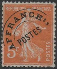 "FRANCE STAMP TIMBRE PREOBLITERE N° 50 "" SEMEUSE 5c ORANGE "" NEUF xx TB"