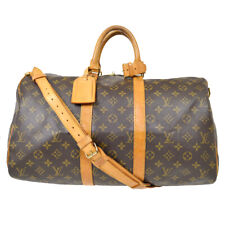 LOUIS VUITTON KEEPALL 45 BANDOULIERE TRAVEL HAND BAG MONOGRAM M41418 gg 90721