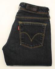 Levis 572 Womens Blue  Bootcut Stretch Jeans  W26 L30 (28435)