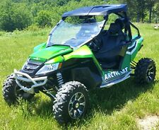 2012 Arctic Cat Wildcat 1000 HO Loaded Candy Apple Green LEDs Radio Amp Bumper