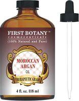 Moroccan Organic Argan Oil For Hair, Skin, Face 4 fl oz