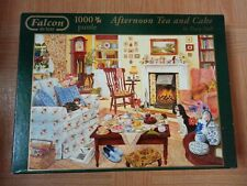 "Falcon De Luxe 1000 Piece Jigsaw Puzzle ""Afternoon Tea And Cakes"""