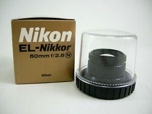 Nikon EL NIKKOR 50mm f/2.8 Lens (MINT) w/box