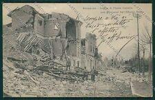 L'Aquila Avezzano Terremoto cartolina QQ3901