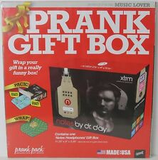 New ! Notes by Dr Day Prank Fake Gag Gift Box For the Music Lover