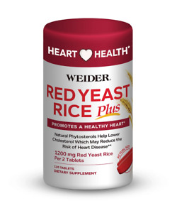 WEIDER - Red Yeast Rice Plus - 120 Tablets