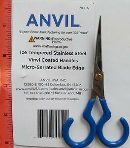 "ANVIL ( 70-CA MICRO-SERRATED BLADE EDGE ) 4"" Stainless Steel  Scissors"