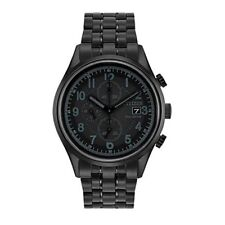 Citizen Eco-Drive Men's CA0625-55E Chronograph Black Bracelet 42mm Watch