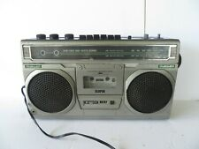 Vintage HITACHI Hitachi TRK 7300R STEREO AM/FM Portable Radio Cassette see video