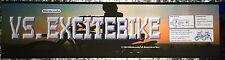 "Vs Excitebike Nintendo Arcade Marquee 22.3"" x 5.8"""